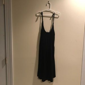 Brandy Melville Black Flowy Dress